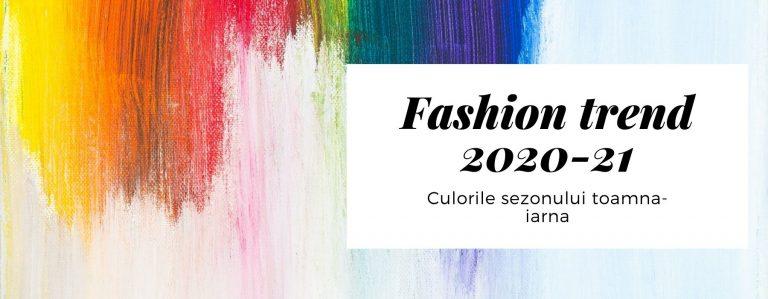 Fashion trend 2020-2021. Culorile sezonului toamna-iarna