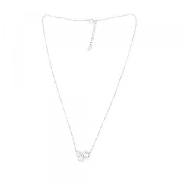 lant cu pandantiv din argint lungime lant reglabila pe intervalul 40-44 cm