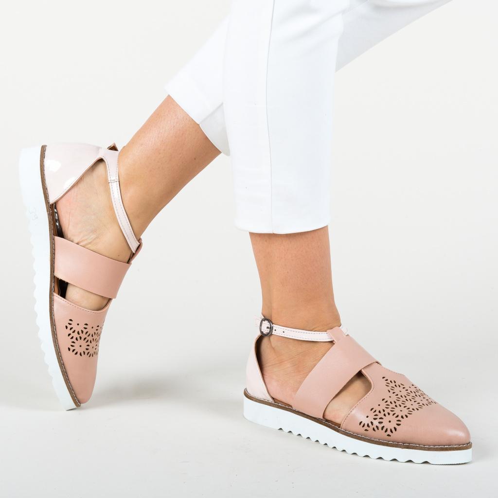pantofi cazual roz