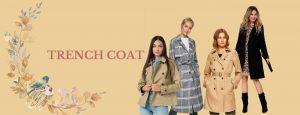 Trench coat -ul, una dintre cele mai iconice piese vestimentare