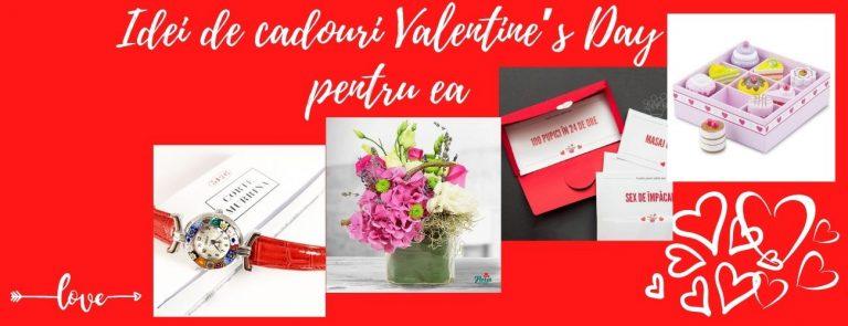 Idei de cadouri Valentine's Day pentru ea