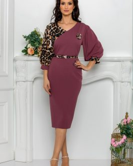Rochie Roses Lila