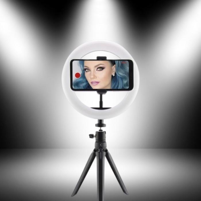 Trepied portabil Studio Live, cu iluminare LED