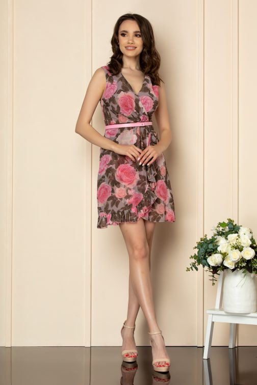 Rochie Anelise Multi Floral