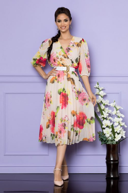 Rochie Cryna Rose Floral