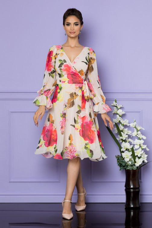 Rochie Simine Rose Floral